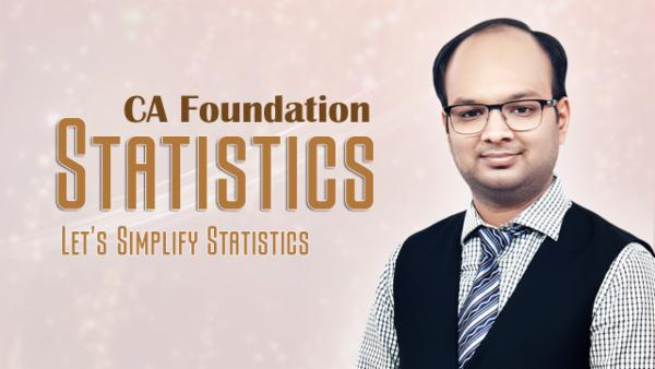 Statistics : CA Foundation cover