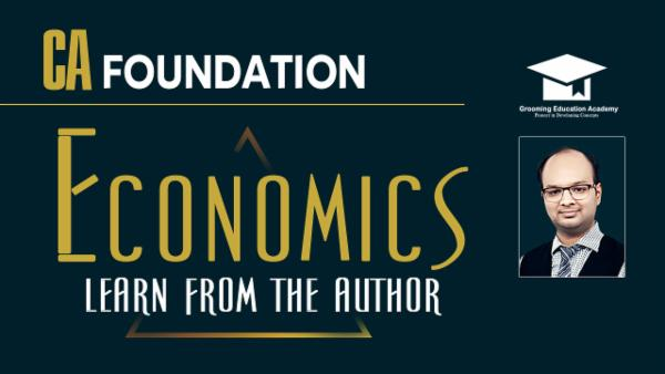 Economics : CA Foundation cover
