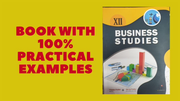 Class 12th Business Studies Book (Course code: 104) cover