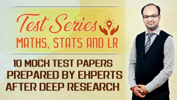 Test Series : Maths, Stats and LR cover