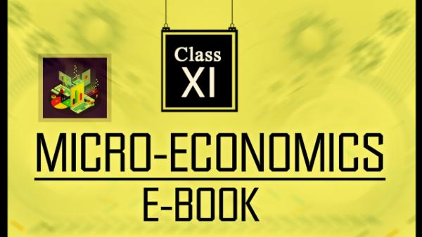 Micro Economics Book and Revision Notes : Class 12 cover